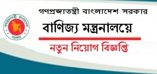 Ministry of Commerce Job Circular
