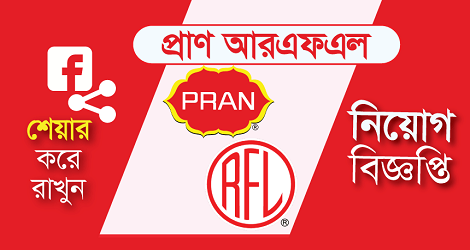PRAN-RFL Group Job Circular